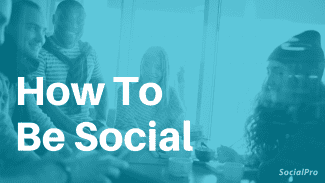How To Be More Social (If You're Not a Party-person)
