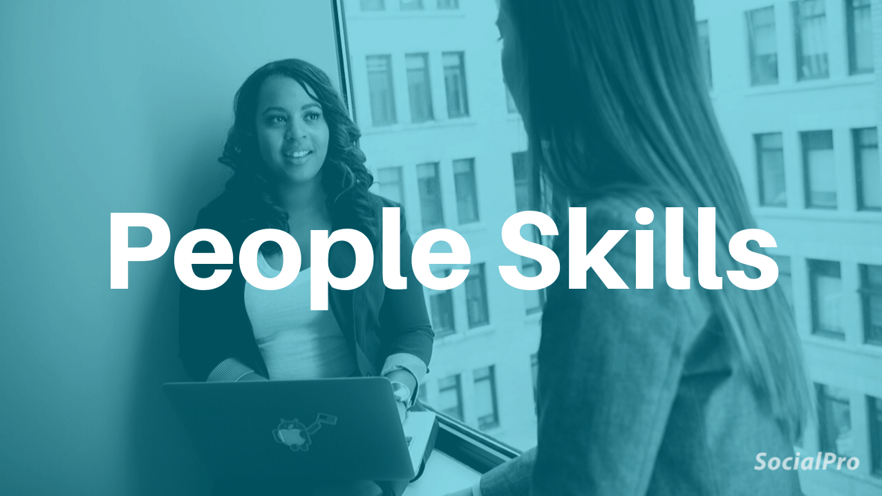 How to improve people skills