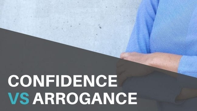How to be confident without coming off as arrogant