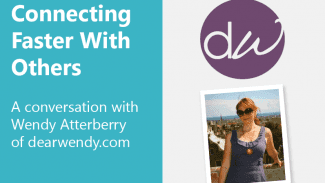 How to connect faster with others (Interview with W. Atterberry)