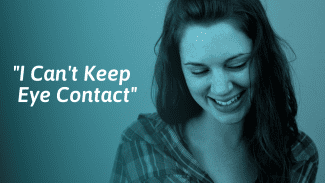 What Avoiding Eye Contact Means And What to Do About It