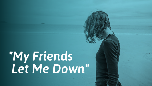 Disappointed in Your Friend? Here's How to Deal With It